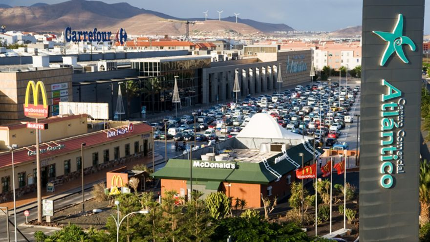 Centro Comercial Atlántico Vecindario. (Web del centro)