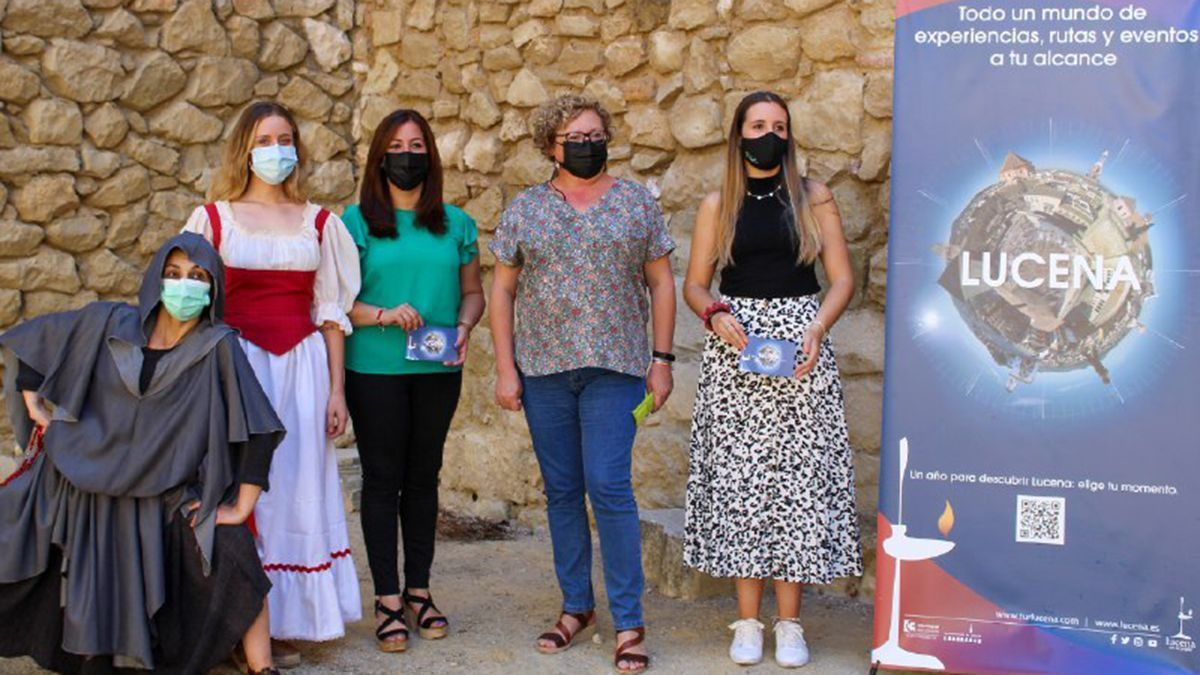 Presentación de las actividades culturales en Lucena para el mes de julio.