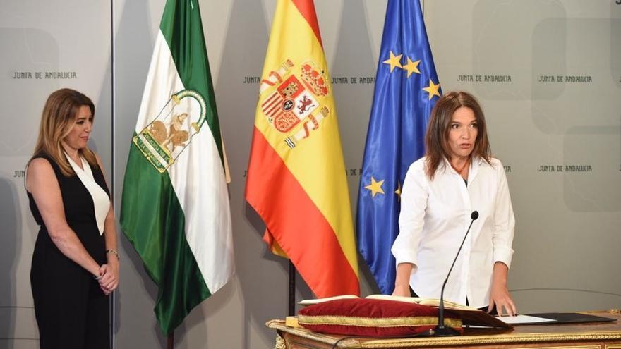 Arellano y Gálvez toman posesión al frente de Economía y Hacienda y Conocimiento y Universidad prometiendo sus cargos