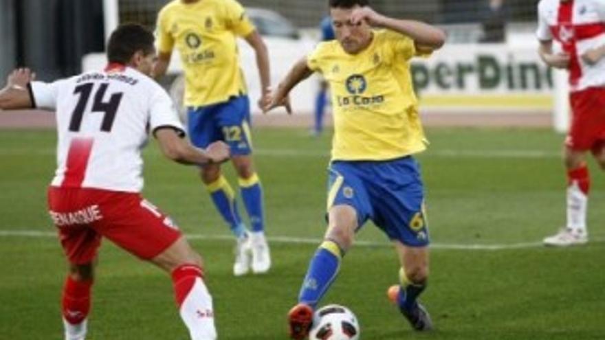 Josico, durante el partido ante el Huesca. (UDLASPALMAS.ES)