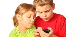 Niños smartphones