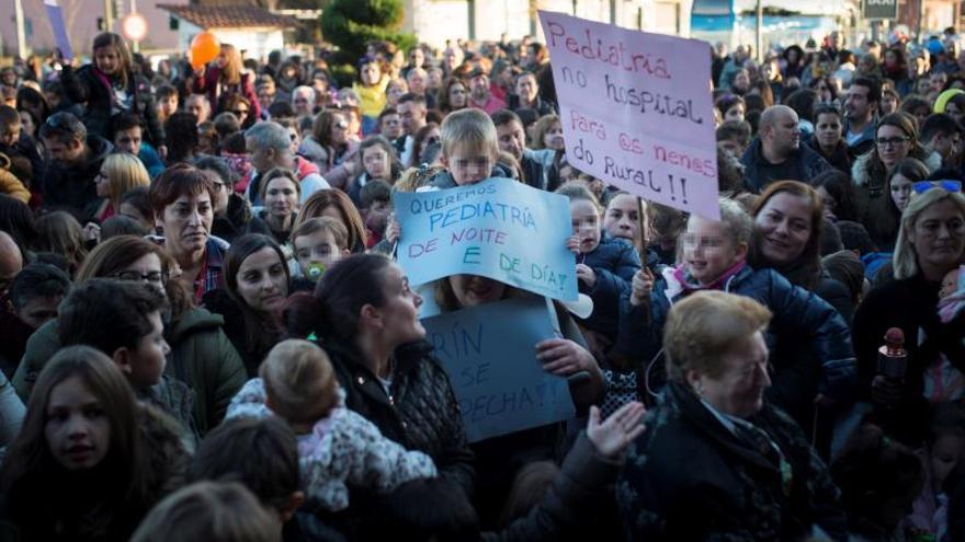 El cierre de un paritorio que ha movilizado a las embarazadas