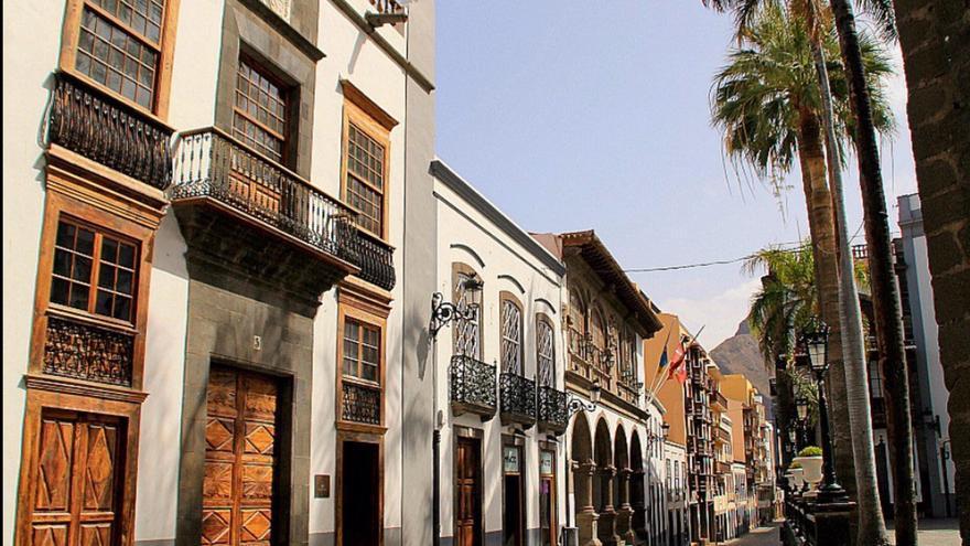 La capital cuenta con un relevante patrimonio histórico-artístico. Foto: FERNANDO RODRÍGUEZ/PALMEROS EN EL MUNDO