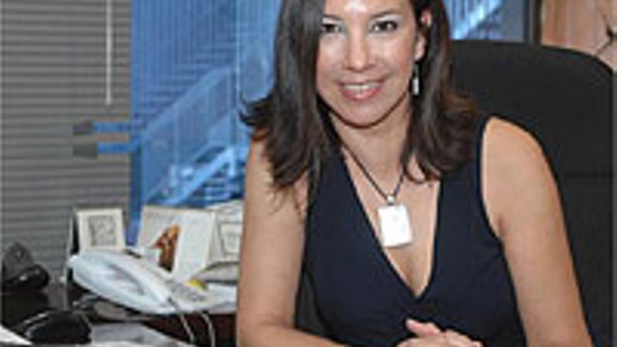 Teresa Cárdenes, periodista.