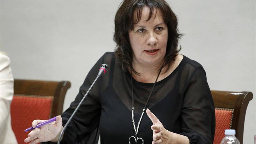 La consejera de Educación y Universidades del Gobierno de Canarias, Soledad Monzón.