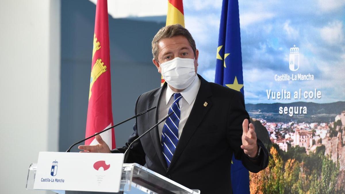 El presidente de Castilla-La Mancha en un acto en Cuenca
