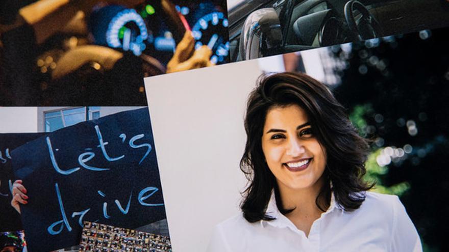Loujain al-Hathloul, defensora de derechos humanos de las mujeres © Marieke Wijntjes