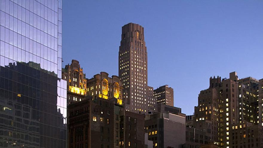 9/11 Memorial Plaza. | CORBIS