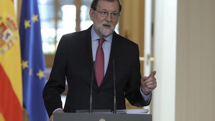 Rajoy apela al futuro Govern a que no vuelva a poner a prueba la legalidad