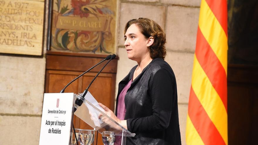 """Ada Colau sobre la declaración de Rajoy: """"Sus 'no me acuerdo' ofenden"""""""