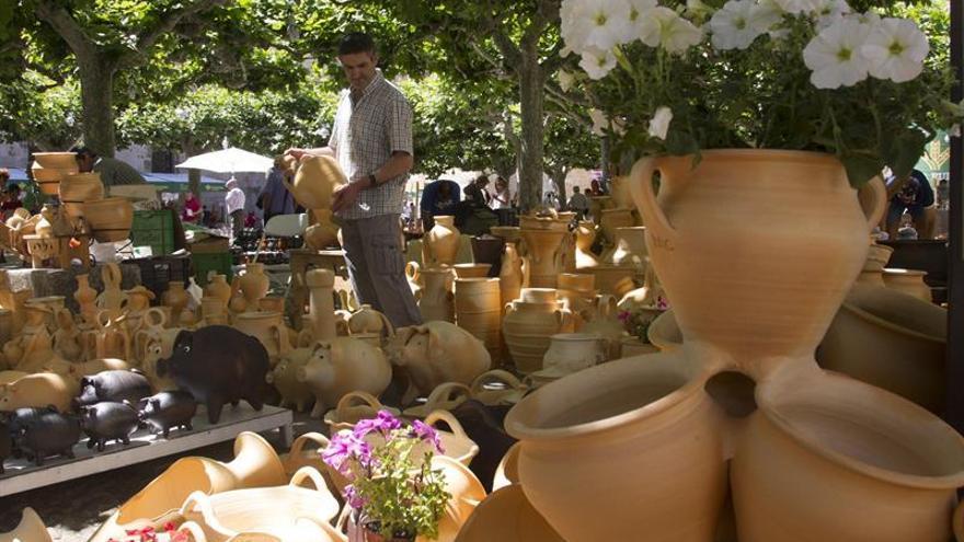 La Feria de la Cerámica decana en España congrega a centenar de artesanos en Zamora