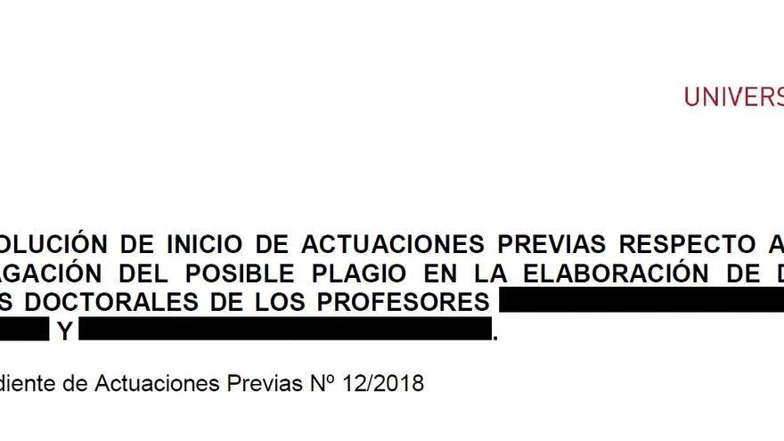 Un vicedecano de la Universidad de Murcia y su sobrino, investigados por presentar supuestamente la misma tesis doctoral
