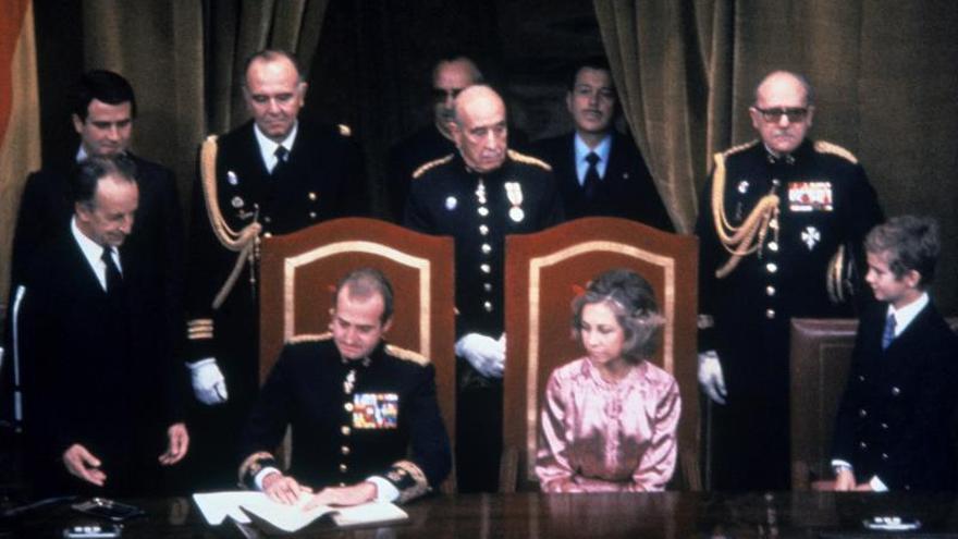 La Constitución eludió el día de los Inocentes en el BOE, hoy hace 40 años