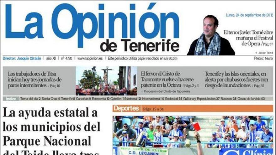 De las portadas del día (24/09/2012) #5