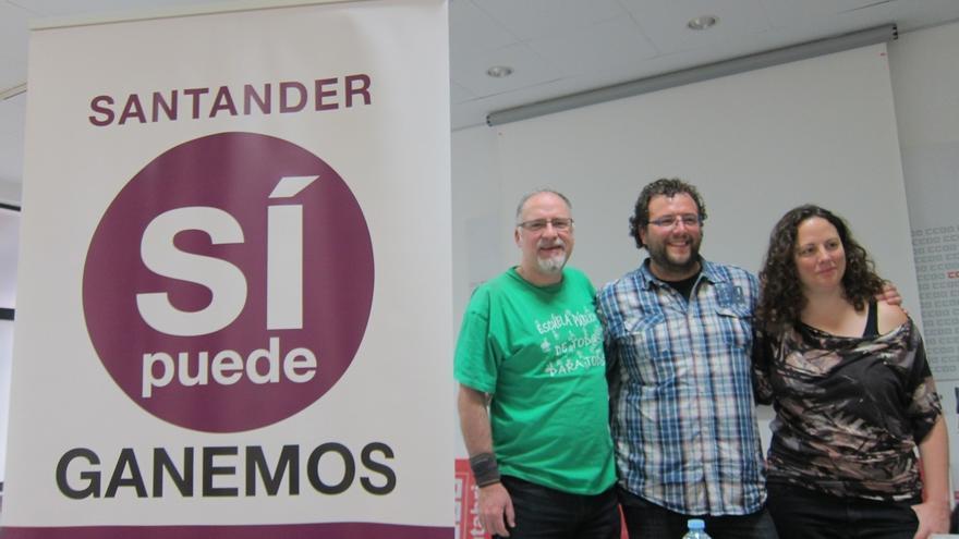 Auditoria de la deuda, recuperación de servicios públicos y paralización del PGOU, apuestas de Ganemos Santander