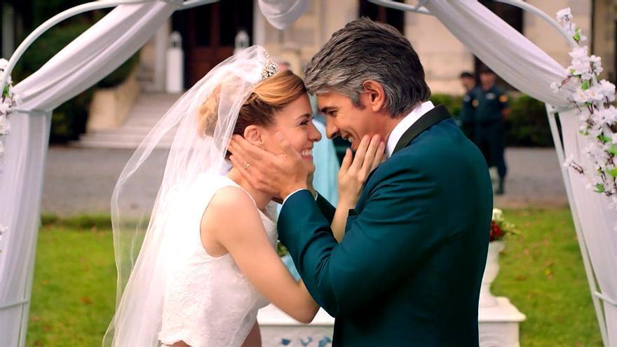 Alexandra Jiménez y Pablo Echarri en 'Atrapa a un ladrón'