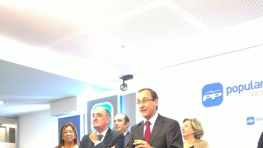 """PP cree que Urkullu """"perjudica"""" el Concierto con su propuesta y """"solo consigue que tenga más detractores"""" en España"""