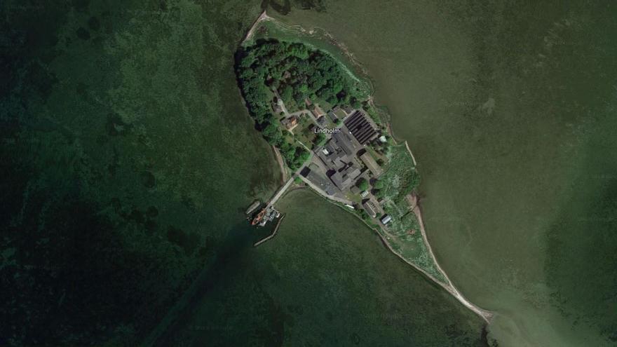 La isla de Lindholm, en Dinamarca.