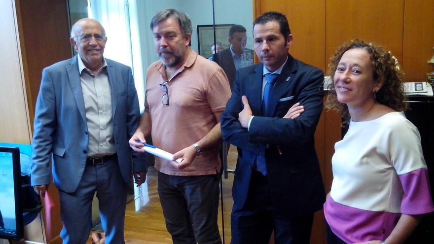 José Ignacio Gras, Nacho Tornel, Mario Gómez y Alicia Morales
