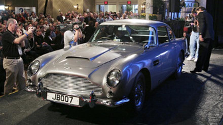 Aston Martin de James Bond
