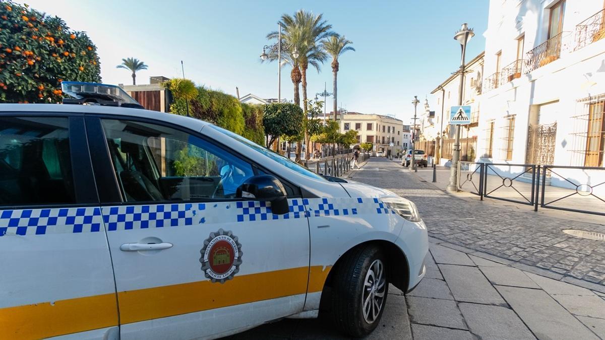La Policía Local de Mérida ha realizado varias actuaciones durante Semana Santa