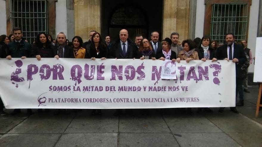 El Pleno de la Diputación expresa su repulsa a la violencia machista con la lectura de un manifiesto
