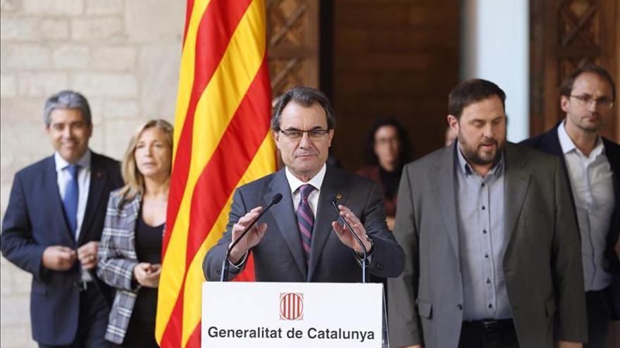 """Jordi Pujol, sobre la pregunta de la consulta: """"Yo, lo que diga Mas"""""""