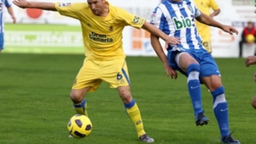 Josico, en un partido de esta temporada ante el Ponferradina.