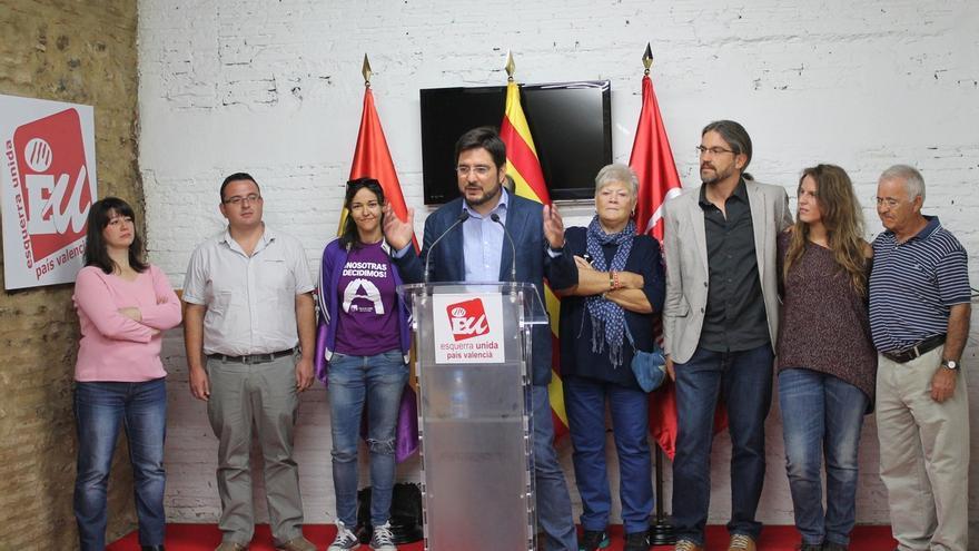 Ignacio Blanco, elegido candidato de EUPV a la Presidencia de la Generalitat Valenciana con el 53,14% de los votos