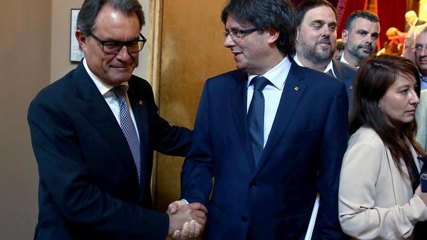 """Mas avala el referéndum de Puigdemont: """"El camino es el correcto"""""""