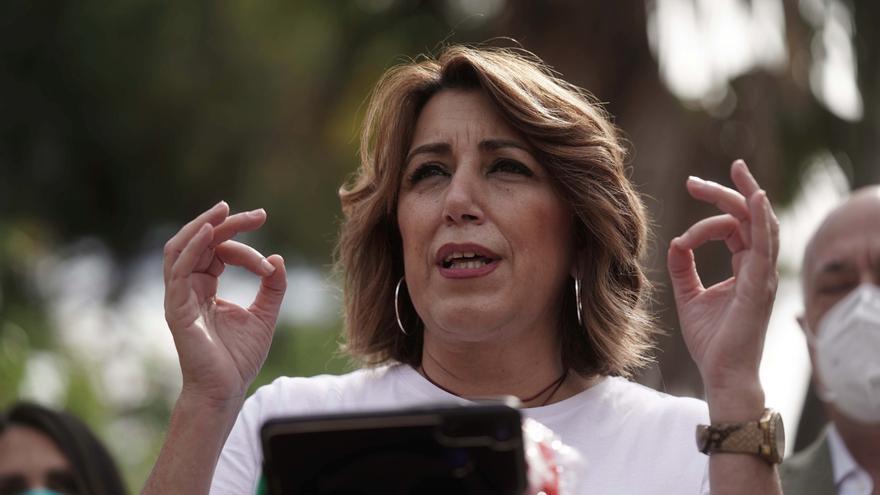 La secretaria general del PSOE andaluz y candidata a las primarias de su formación, Susana Díaz. EFE/ Rafa Alcaide/Archivo