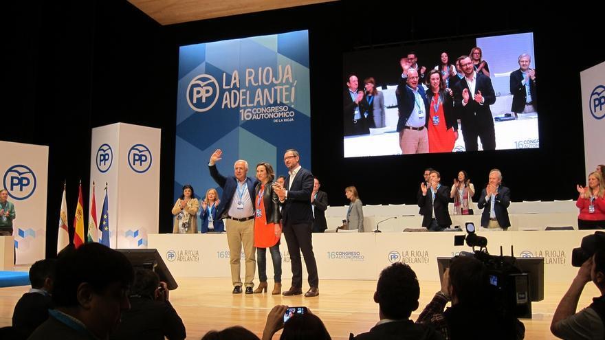 """Maroto apela en La Rioja a la """"unidad del partido"""" porque """"la única receta para poder mantener los gobiernos"""""""