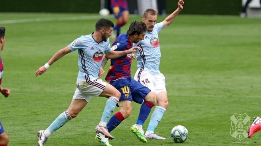 Jacobo González, dispuesto a devolver con goles la confianza mostrada por el CD Tenerife
