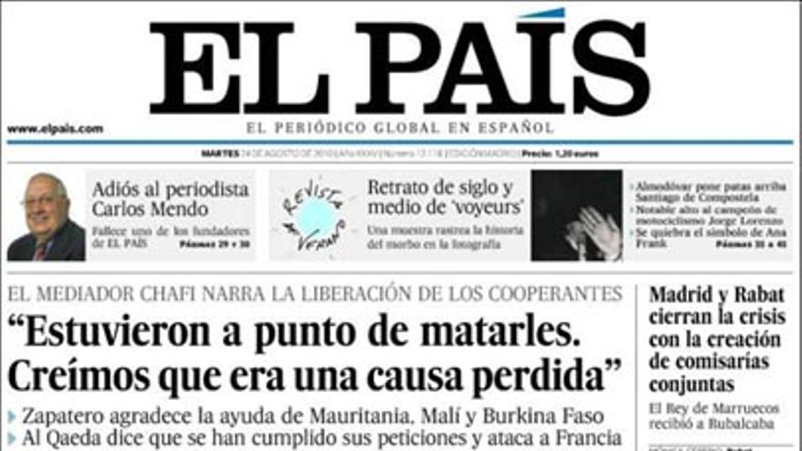 De las portadas del día (24/08/2010) #5