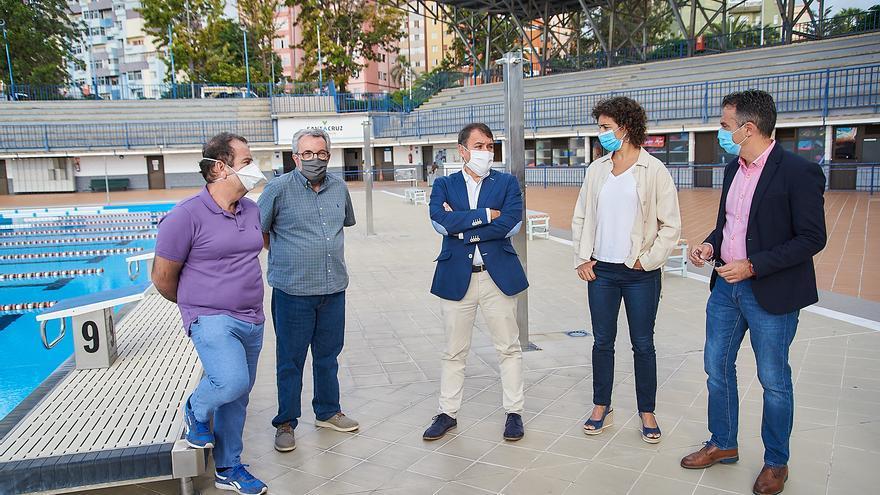 El Ayuntamiento de Santa Cruz recupera la Piscina Acidalio Lorenzo para los clubes