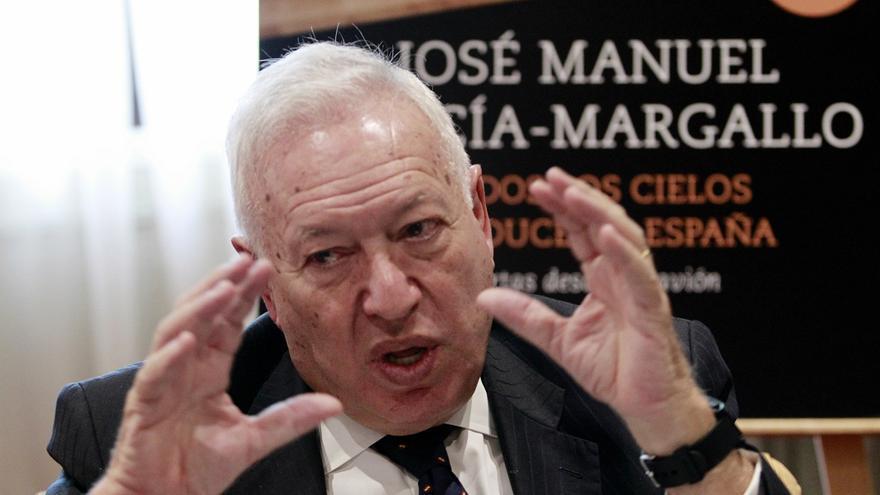 El ministro de Exteriores, José Manuel García-Margallo. / Marta Jara