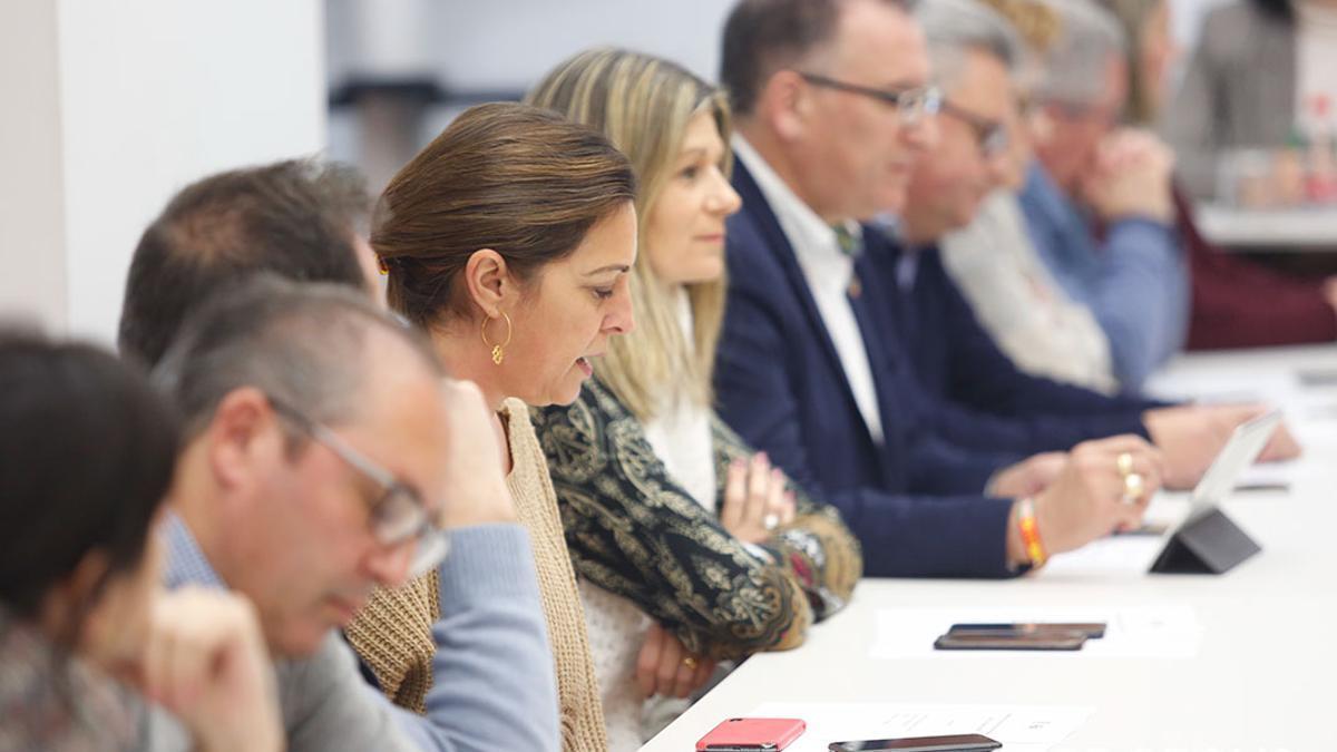 Ambrosio en una iamgen de archivo en la Ejecutiva del PSOE de Córdoba.