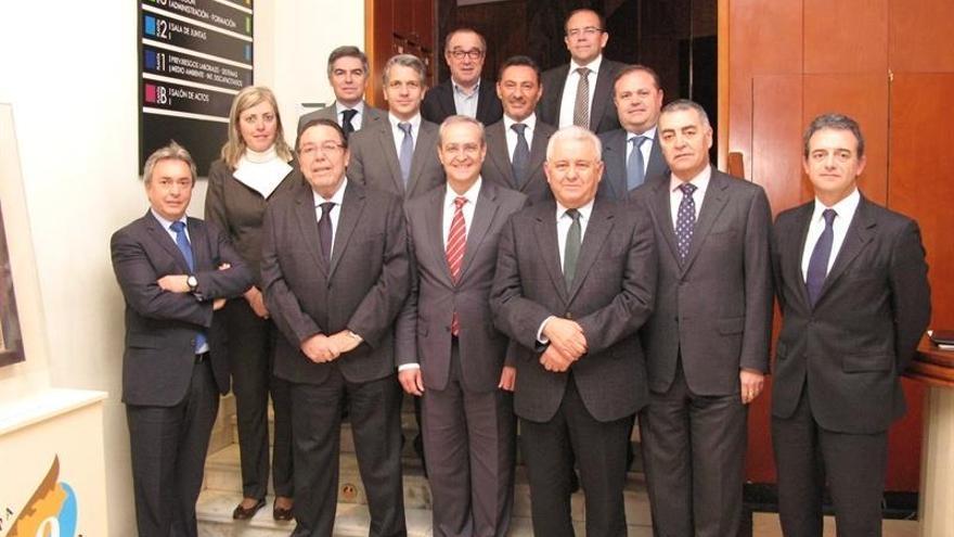 Junta directiva de COEPA elegida en 2013