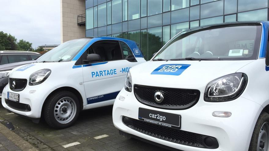 Car2go (Daimler) comenzará a funcionar en Bruselas en octubre