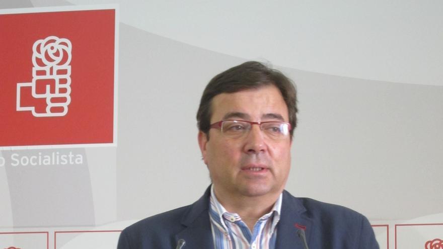 """Vara dice que Sánchez es el líder """"indiscutible"""" del PSOE pese a que Susana Díaz tiene """"poder de influir"""""""