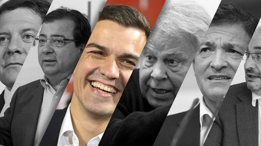 Los barones del PSOE atacan a Pedro Sánchez