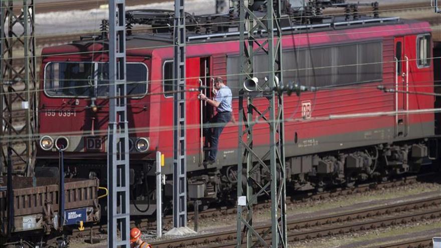 Berlín critica la huelga de maquinistas de seis días que arranca esta tarde