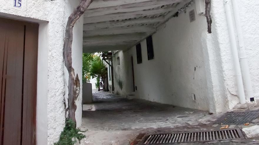 Tradicional Tinao alpujarreño en la localidad de Pampaneira.