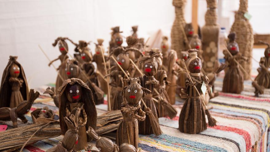 Feria de artesanía celebrada en La Gomera en 2015