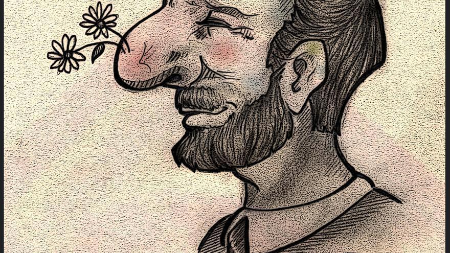 Los politicos no ven mas alla de las narices - Ilustracion de Yoana Novoa