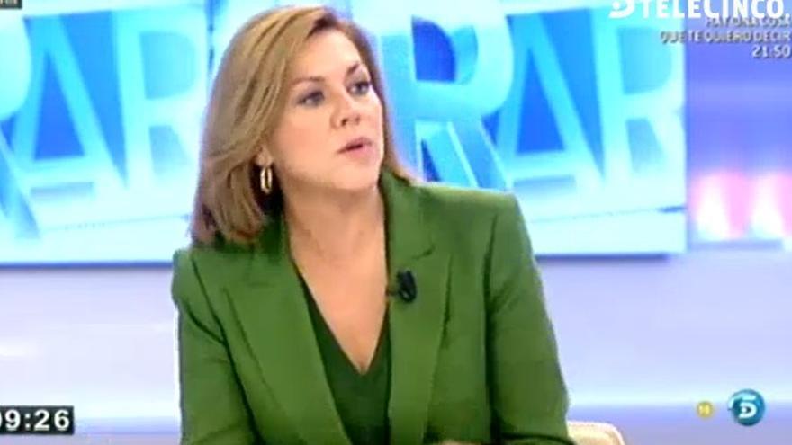 Cospedal, en su entrevista en el programa de Ana Rosa Quintana