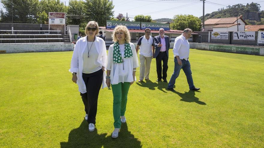 Escobedo estrenará su campo de hierba artificial en unos meses tras una inversión de 425.000€