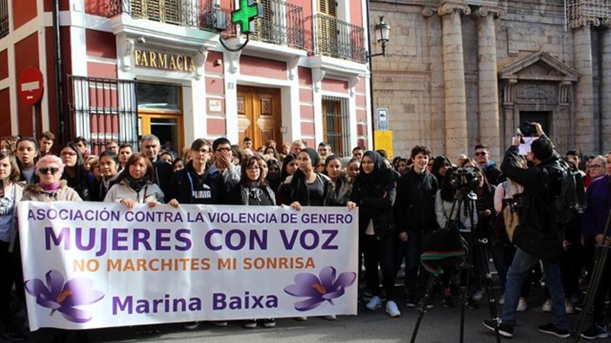 Los vecinos de Callosa d'En Sarrià han mostrado su repulsa a la violación