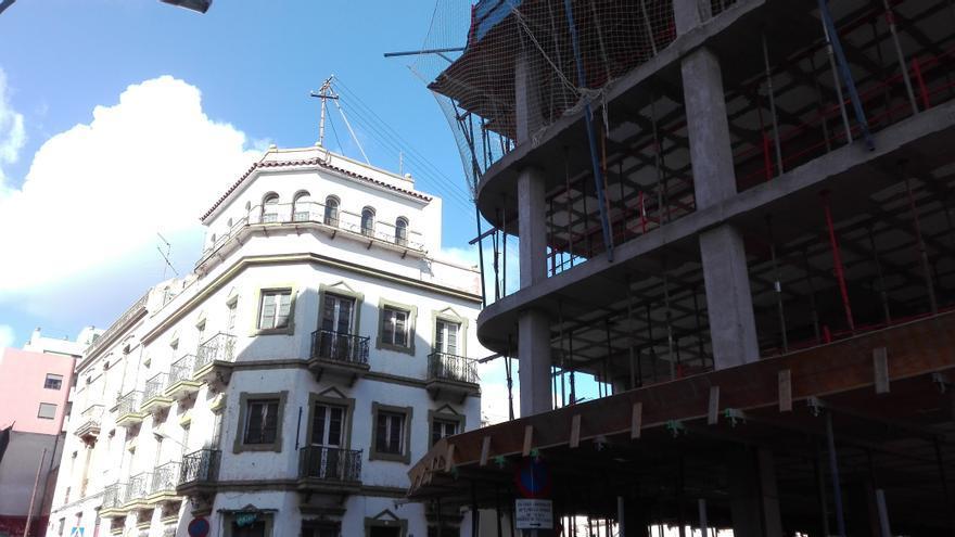 Otro de los edificios que se prevé demoler en Santa Cruz de Tenerife.