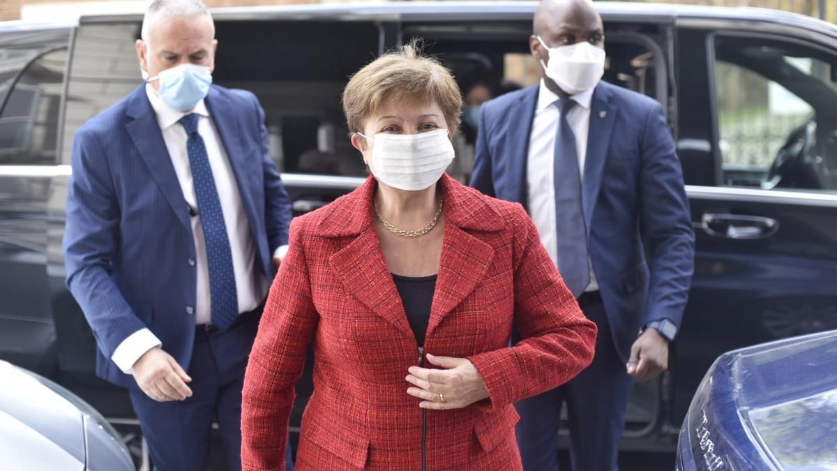 Kristalina Georgieva, titular del FMI